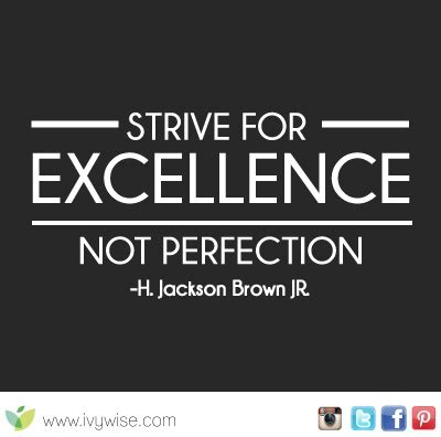 quotes  striving  excellence  work quotesgram