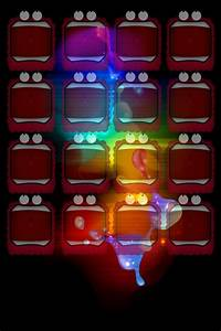 .:iPod Home Screen Wallpaper:. by Black