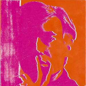 Andy warhol Self Portrait 1967,pop art
