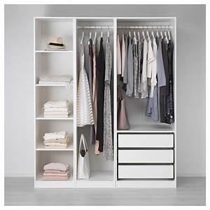 Ikea Offener Schrank : pax kleiderschrank wei ideen schlafzimmer kleiderschrank ohne t ren offener ~ Watch28wear.com Haus und Dekorationen