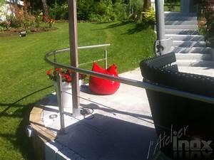 Garde Corps Terrasse Inox : garde corps avec cables inox pour terrasse l 39 atelier inox ~ Melissatoandfro.com Idées de Décoration