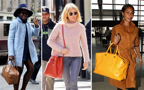 autumnal hues  bucket bags    moment  celebs  week purseblog