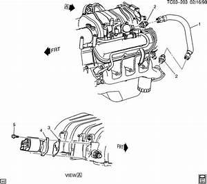 Chevrolet K2500 Pipe  Emission System  Pipe  Egr Vlv