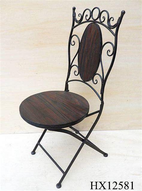 gartenstühle holz metall stuhl gartenstuhl hx12581 bistrostuhl 93 cm klappstuhl metall und holz ebay