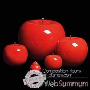 Pomme Rouge Deco : arbre arbuste fleur et sapin artificiel composition fleurs et plumes ~ Teatrodelosmanantiales.com Idées de Décoration