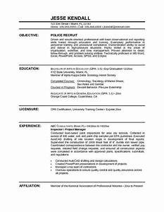 free law enforcement resume example writing resume With sample resume for police officer with no experience
