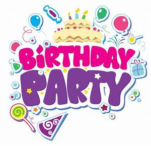 Birthday party clipart - Clipground