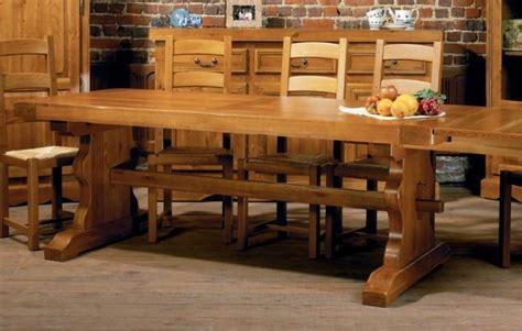 meuble cuisine a meubles hellin photo 2 10 immense table de monastère en chêne massif
