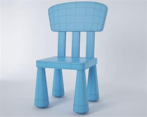 Ikea Mammut Stuhl by 3d Model Mammut Chair Ikea