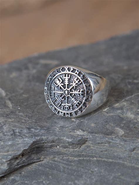 wikinger kompass ritterladen ring mit wikinger kompass mittelalter shop