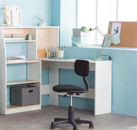 bureau avec etagere leclerc bureau d angle avec étagère à 52