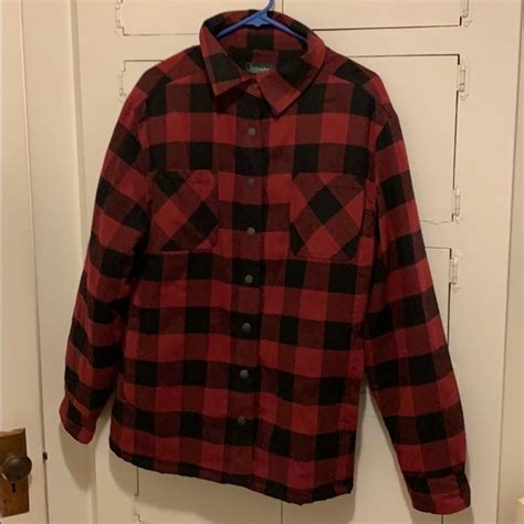 Jackets & Coats   Stillwater Supply Co Ladies Plaid Lined ...