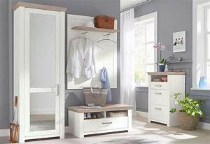 Designer Garderoben Set : set one by musterring garderoben set 4 tlg york pino aurelio im landhaus stil online ~ Indierocktalk.com Haus und Dekorationen