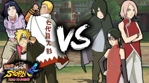 Uzumaki Family Vs Uchiha Family