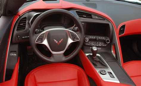 corvette  interior significant upgrade world
