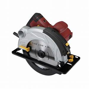 7 4 In  10 Amp Heavy Duty Circular Saw With Laser Guide