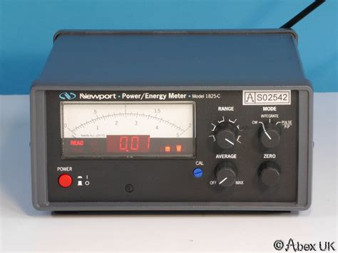 Newport 1825-c Laser Power Energy Meter (universal Input