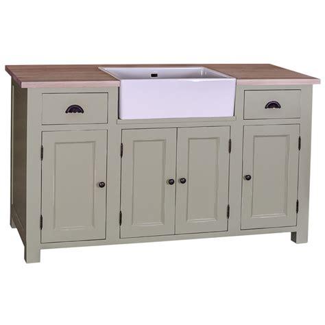 meuble cuisine avec tiroir meuble de cuisine avec évier intégré 4 portes et 2