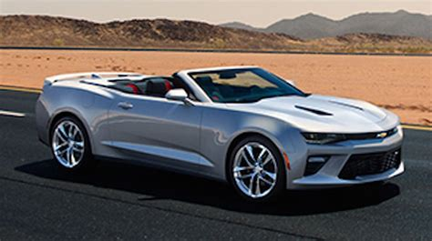 convertible cars for new 2016 camaro convertible photos appear on chevy 39 s site