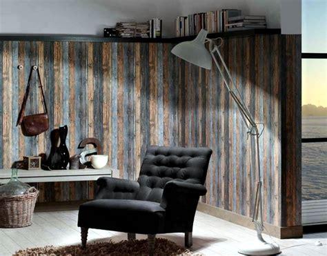 wood  wallpaper brings  pleasure   bedroom