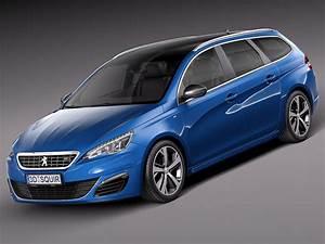 308 Peugeot 2015 : peugeot 308 gt sw 2015 3d model max obj 3ds fbx c4d lwo lw lws ~ Maxctalentgroup.com Avis de Voitures
