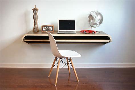 minimal float wall desk uncrate