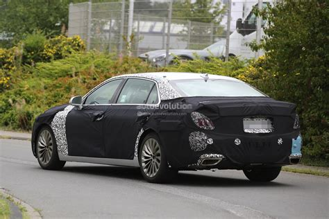 2017 Hyundai Equus Spied Out Testing In Germany