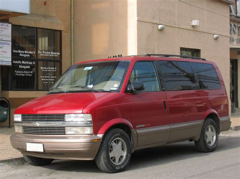chevrolet astro workshop  owners manual