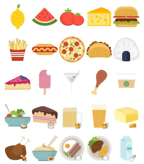 printable food stickers pictures to pin on