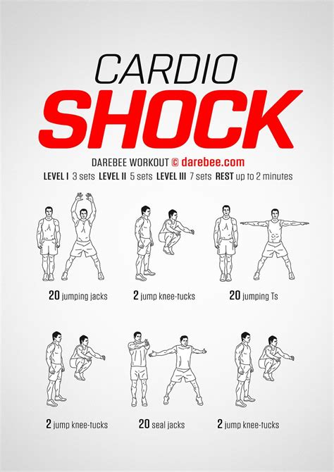Bedroom Cardio Workout by Cardio Shock Workout Weight Cardio