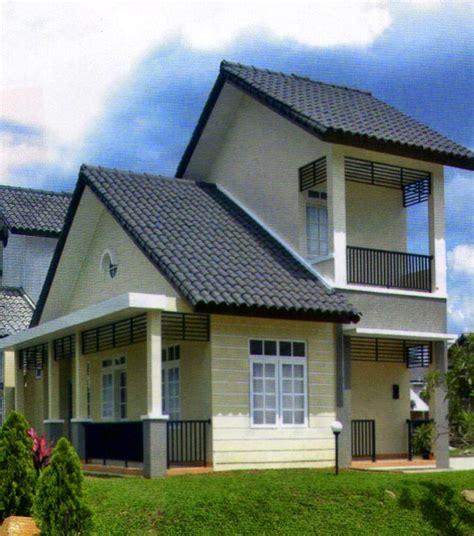 model rumah minimalis setengah tingkat sobat interior rumah