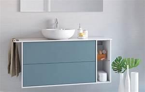 Meuble Pour Vasque A Poser : plan compact pour vasque poser plan compact newport ~ Dailycaller-alerts.com Idées de Décoration