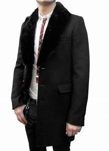 Manteau Homme Avec Fourrure : manteau homme col fourrure ~ Melissatoandfro.com Idées de Décoration