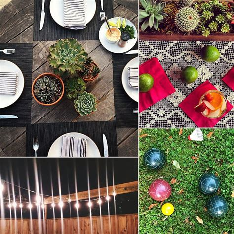 Entertaining Ideas by Outdoor Entertaining Ideas Inspired By Instagram