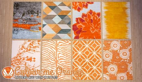 white kitchen furniture colour me orange modern rugs at simsational designs sims