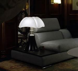 Lampe A Poser Noire : lampe poser pipistrello noir brillant h86cm martinelli luce luminaires nedgis ~ Teatrodelosmanantiales.com Idées de Décoration