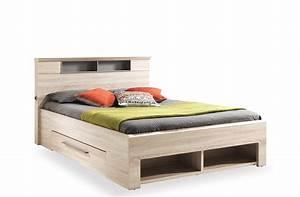 Lit design adulte 2 places avec tiroir pluriel crozatier for Nettoyage tapis avec canapé avec tiroir lit