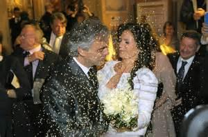mariage italien mariage andrea bocelli a épousé berti photos closermag fr