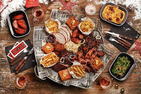 bq christmas s true barbecue feast s true bbq