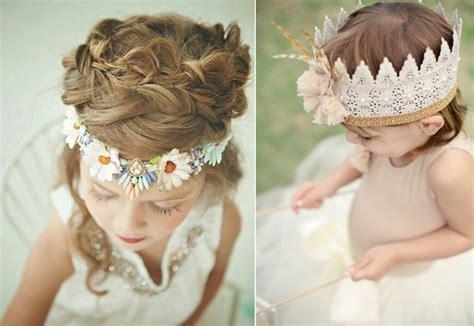 coiffure bohème mariage des coiffures pour petites filles qui vont vous faire craquer j ai dit oui