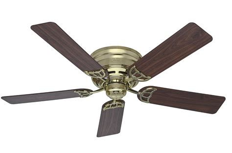 best low profile ceiling fan hunter 52 quot low profile iii 2013 ceiling fan hu 53070 in