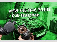 BMW E46 316ti N46 Motor KGE Tauschen YouTube