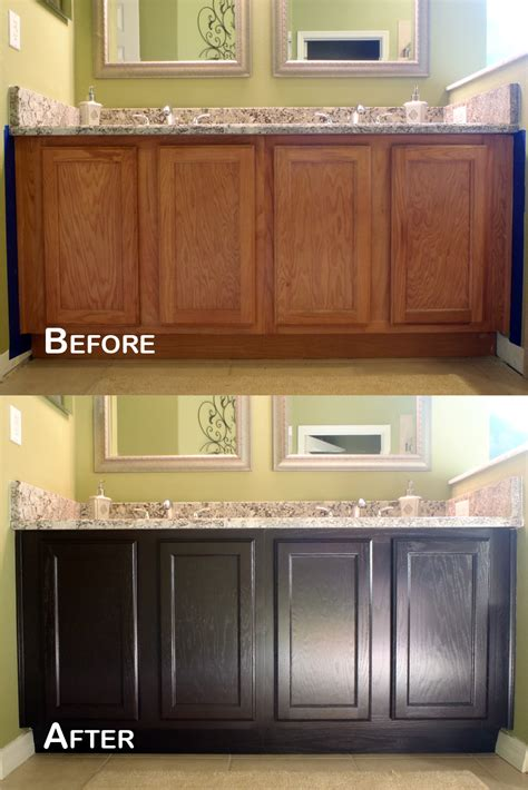 how to stain kitchen cabinets java gel stain for any wood cabinets in my house our