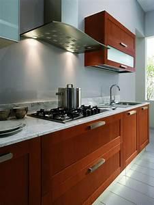 Meuble Cuisine Bois Naturel : cuisine en bois naturel 4 photo de cuisine moderne ~ Premium-room.com Idées de Décoration