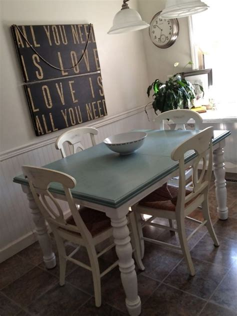 kitchen table paint colors dining room chair makeover on sloan 6223