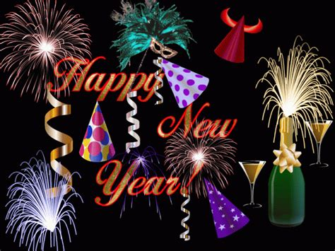 Happy New Year 2017 Animated Wallpaper - happy new year 2018 gif images for whatsapp