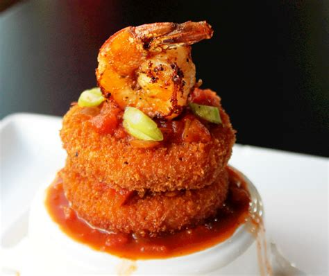 grit cakes shrimp and grit cakes with creole sauce
