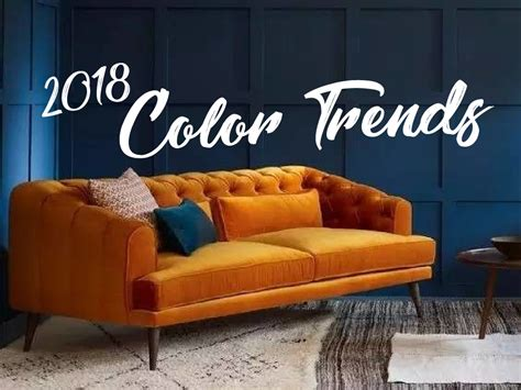 2018 Trends Something Borrowed And Plenty That Is New: 2018 Interior Color Trends: Bold Or Timeless?