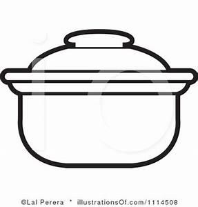 Cooking Pot Outline Clipart - Clipart Suggest