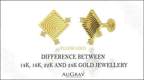 Difference Between 14k, 18k, 22k And 24k Gold Jewellery